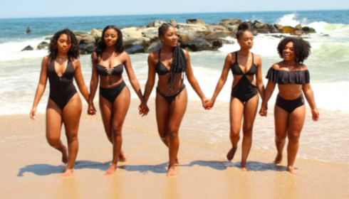3c80af08668f4 Beautiful Black Women Go Viral for Their Incredible Beach Looks ...